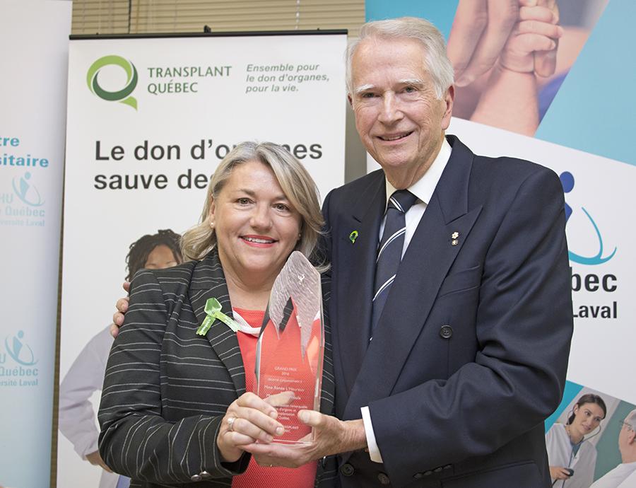 René l'heureux-Transplant QC